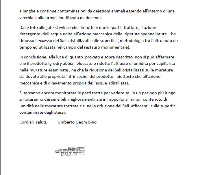 Umberto Bino Anteprima